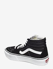 VANS - UA SK8-Hi Platform 2.0 - chunky sneakers - black/true white - 2