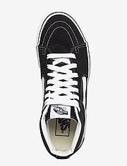 VANS - UA SK8-Hi Platform 2.0 - chunky sneakers - black/true white - 3