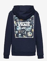 VANS - PRINT BOX BACK PO BOYS - kapuzenpullover - dress blues/califas - 2