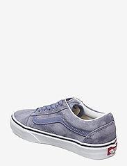 VANS - UA Old Skool - laag sneakers - (pig suede)tempestbltrwht - 2