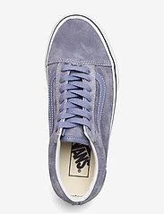 VANS - UA Old Skool - laag sneakers - (pig suede)tempestbltrwht - 3