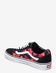 VANS - UA Old Skool - lave sneakers - (valentneshrts)blkfchsprp - 2