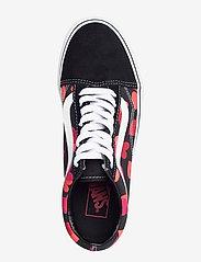 VANS - UA Old Skool - lave sneakers - (valentneshrts)blkfchsprp - 3
