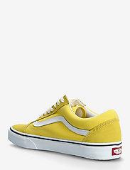VANS - UA Old Skool - laag sneakers - cyber yellow/true white - 2