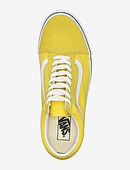 VANS - UA Old Skool - laag sneakers - cyber yellow/true white - 3