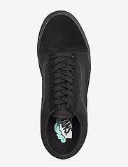 VANS - UA ComfyCush Old Skool - laag sneakers - (classic) black/black - 3