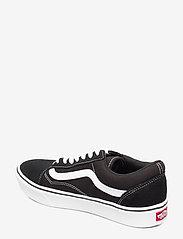 VANS - UA ComfyCush Old Skool - laag sneakers - (classic) black/true whit - 2