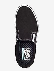 VANS - UA ComfyCush Slip-On - slip-on schoenen - (classic) black/true whit - 3