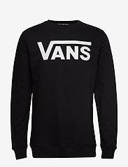 VANS - VANS CLASSIC CREW II - truien - black-white - 0