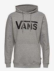 VANS - VANS CLASSIC PO HOODIE II - hoodies - cement heather-black - 0