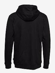 VANS - VANS CLASSIC ZIP HOODIE II - hoodies - black-white - 1