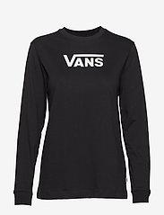 VANS - FLYING V CLASSIC LS BF - topjes met lange mouwen - black - 0