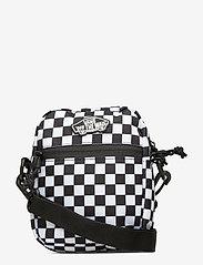 VANS - STREET READY II CROSSBODY - olkalaukut - black/white checkerboard - 0
