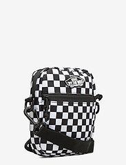 VANS - STREET READY II CROSSBODY - olkalaukut - black/white checkerboard - 2