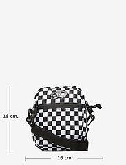 VANS - STREET READY II CROSSBODY - olkalaukut - black/white checkerboard - 5