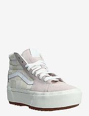 VANS - Shoe Adult Unisex Numeric Wid - baskets épaisses - (chkrbrd)blncdblnchshdvlt - 0