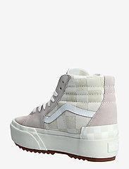 VANS - Shoe Adult Unisex Numeric Wid - baskets épaisses - (chkrbrd)blncdblnchshdvlt - 2