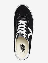 VANS - UA Vans Sport - laag sneakers - (suede) black - 3