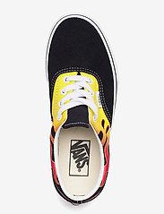 VANS - UA Era - laag sneakers - (flame) black/true white - 3