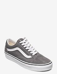 VANS - UA Old Skool - laag sneakers - pewter/true white - 0