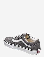 VANS - UA Old Skool - laag sneakers - pewter/true white - 2