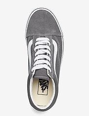 VANS - UA Old Skool - laag sneakers - pewter/true white - 3