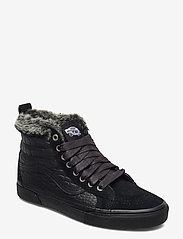 VANS - UA SK8-Hi MTE - hoge sneakers - (croc mte) black/black - 0