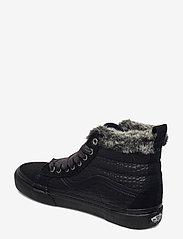 VANS - UA SK8-Hi MTE - hoge sneakers - (croc mte) black/black - 2