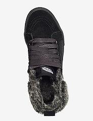 VANS - UA SK8-Hi MTE - hoge sneakers - (croc mte) black/black - 3