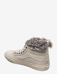 VANS - UA SK8-Hi MTE - hoge sneakers - (croc mte)oatmeal/oatmeal - 2