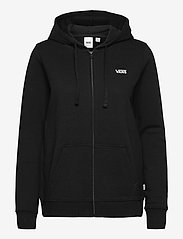 VANS - CLASSIC V ZIP HOODIE - hoodies - black - 0
