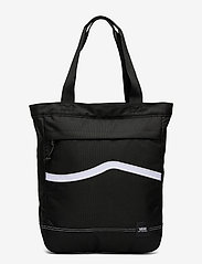 VANS - CONSTRUCT TOTE - shoppers - black/white - 0