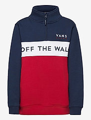 VANS - VICTORY 1/4 ZIP PO BOYS - sweatshirts - chili pepper - 0