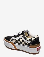 VANS - UA Old Skool Stacked - lage sneakers - (checkerboard) multi/true - 2