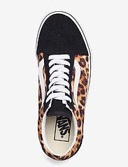 VANS - UA Old Skool - lage sneakers - (leopard) black/truewhite - 3