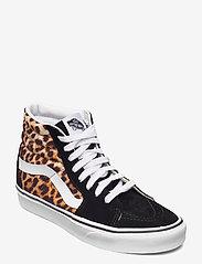 VANS - UA SK8-Hi - hoge sneakers - (leopard) black/truewhite - 0