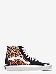 VANS - UA SK8-Hi - hoge sneakers - (leopard) black/truewhite - 1