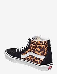 VANS - UA SK8-Hi - hoge sneakers - (leopard) black/truewhite - 2