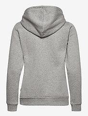 VANS - CLASSIC V II HOODIE - hoodies - cement heather - 1