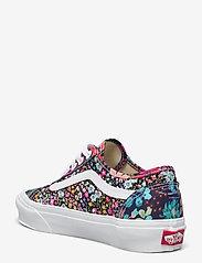 VANS - UA Old Skool Tapered - lage sneakers - (libertyfabrcs)mltblkflrl - 2