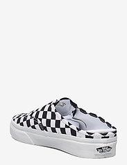VANS - UA Authentic Mule - sko - (checkerboard) blk/truwht - 2