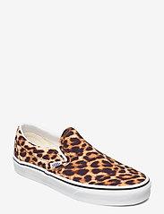 VANS - UA Classic Slip-On - instappers - (leopard) black/truewhite - 0