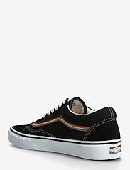 VANS - Shoe Adult Unisex Numeric Wid - baskets basses - (pride) blk/multi/tr wht - 2