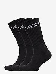 VANS - CLASSIC CREW (9.5-13, 3PK) - chaussettes régulières - black - 0