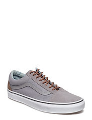 UA Old Skool (SUEDE)BLACK/B, 7.5, Medium - (C L) FROST