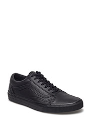 UA Old Skool (SUEDE)BLACK/B, 7.5, Medium - (EMBOSSED SIDEWALL) BLACK/BLACK