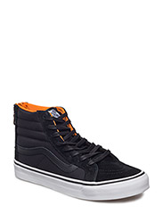 UA SK8-HI SLIM ZIP (BOOM BOOM)B - (BOOM BOOM) BLACK/TRUE WHITE