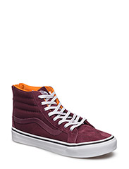 UA SK8-HI SLIM ZIP (BOOM BOOM)B - (BOOM BOOM) PORT ROYALE/TRUE WHITE