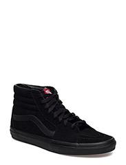 UA SK8-Hi - BLACK/BLACK