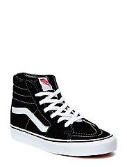 UA SK8-Hi - BLACK/BLACK/WHITE